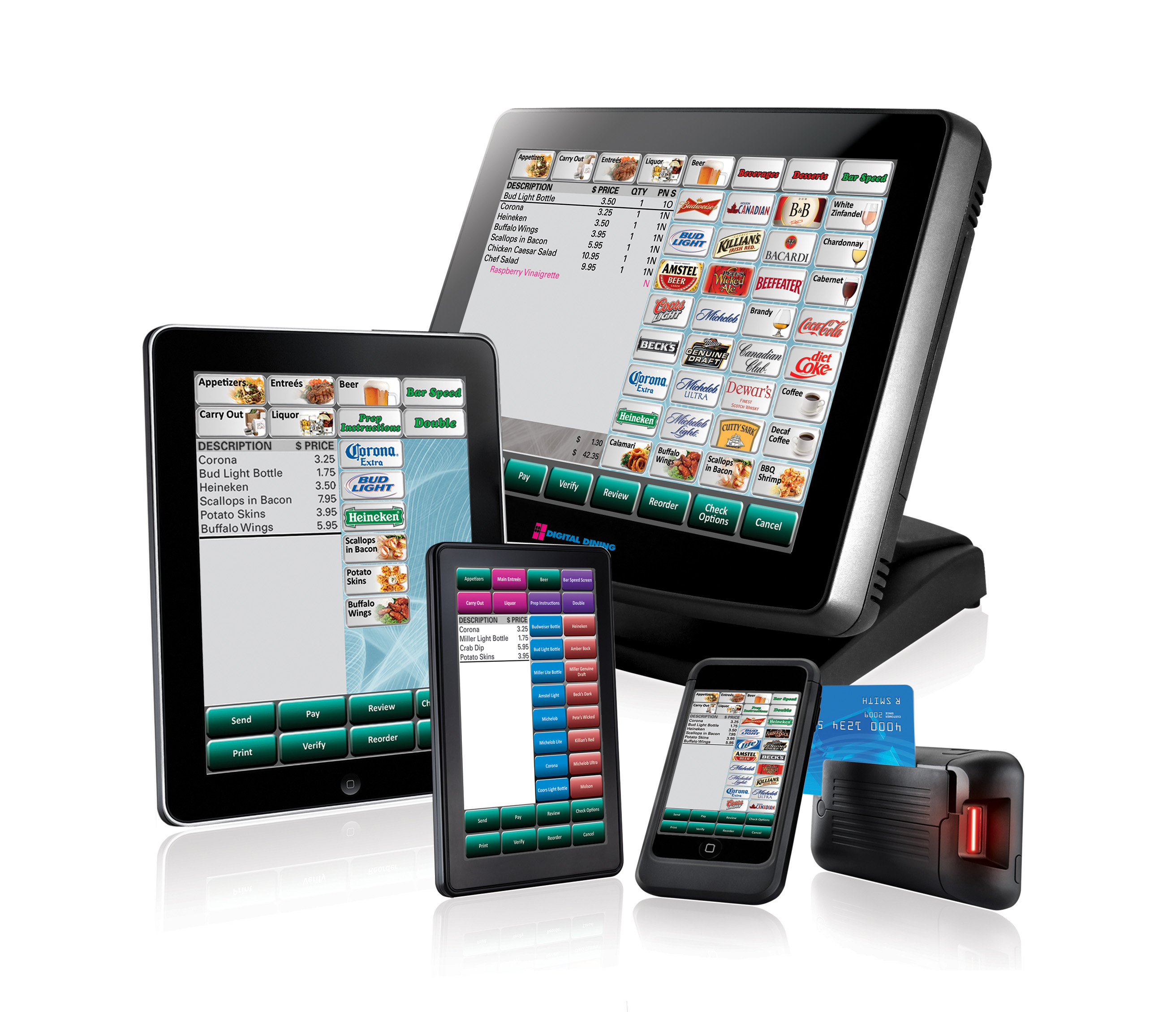 leebro pos traditional and mobile restaurant point of sale