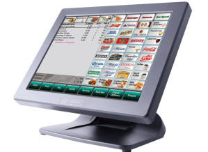 POS Standing Terminal in a Restaurant