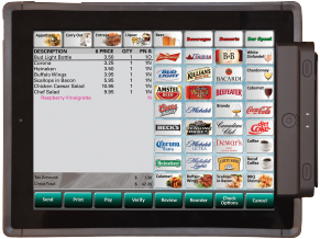 Payment with mobile pos system Leebro POS