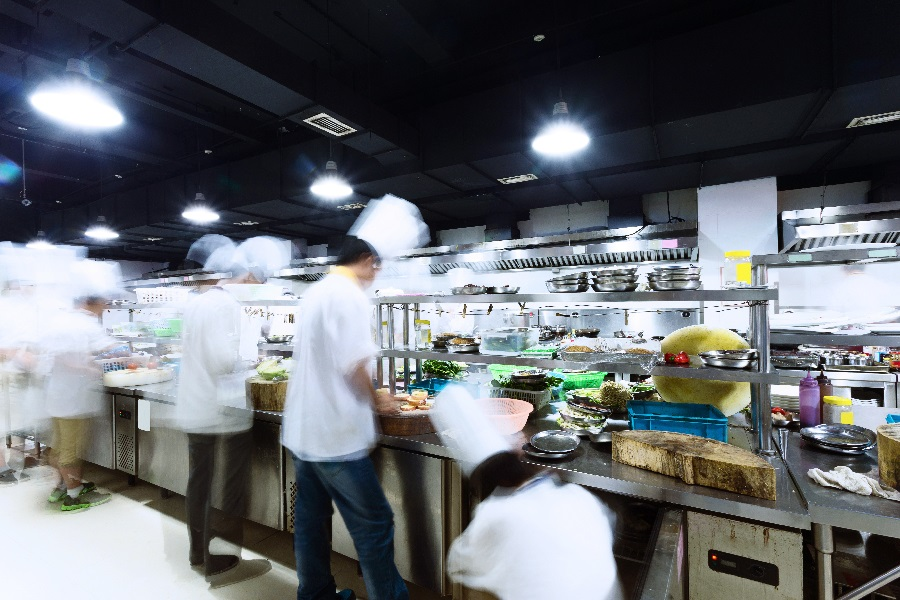 Chefs working with new regulations in place